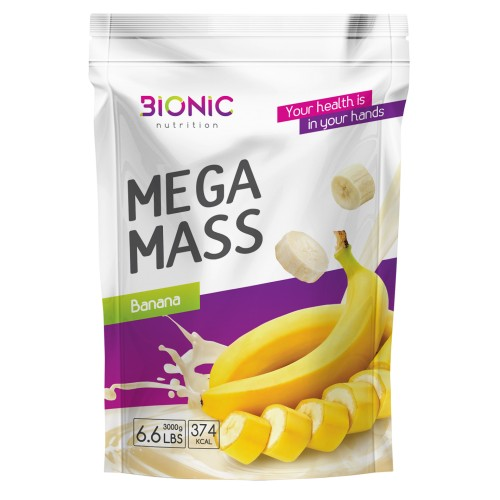 Bionic Mega Mass Gainer 3000g