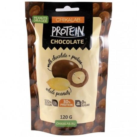 CHIKALAB Арахис в шоколаде 120 гр.