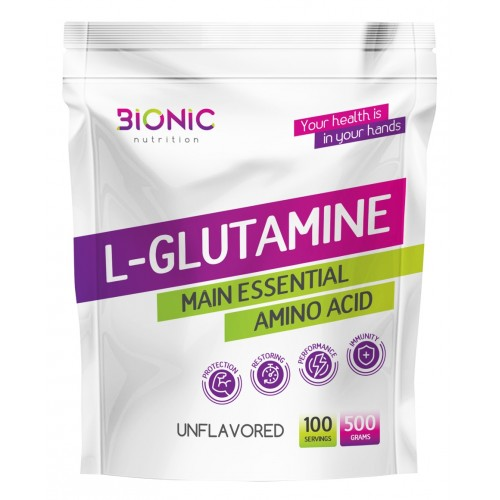 Bionic L-Glutamine 500 гр.