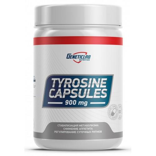 GeneticLab Tyrosine 60 caps
