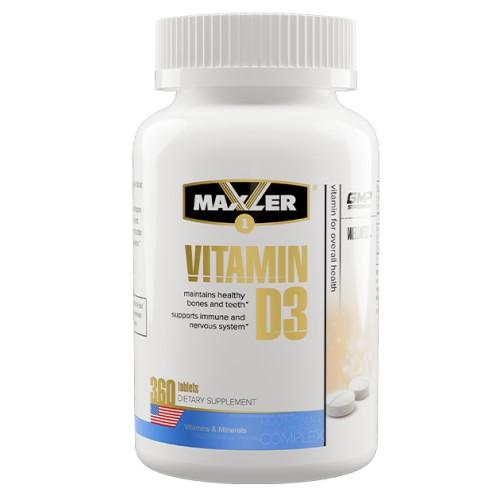 Maxler Vitamin D3 360 tabs