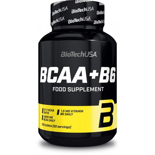 Biotech BCAA+B6 100 таб.