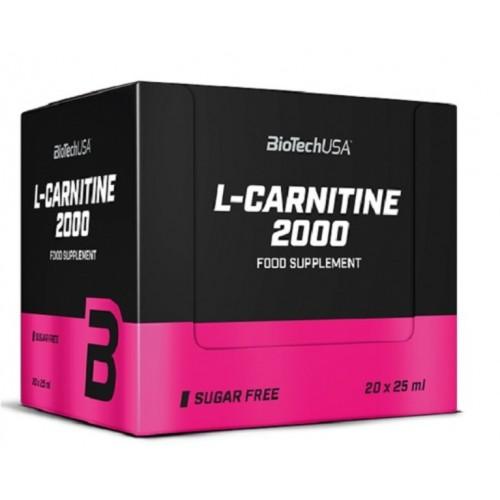 Biotech L-Carnitine Amp 2000mg 25ml