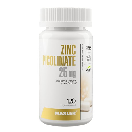 Maxler Zinc Picolinate 25mg 120 капс.
