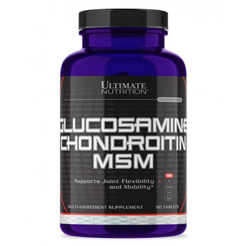 Ultimate Glucosamine & Chondroitin & MSM 90 tabs