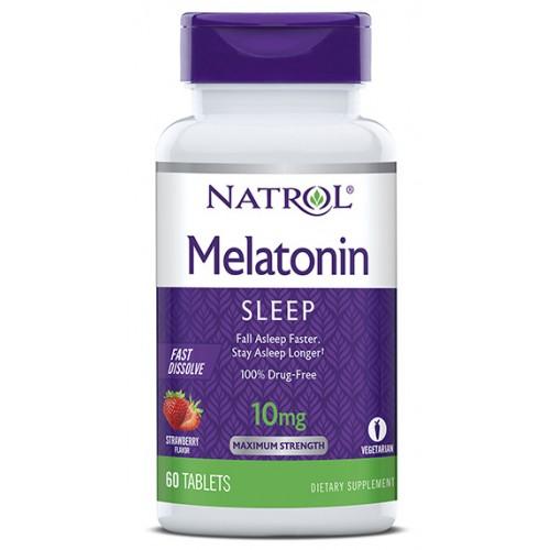 Natrol Melatonin FD 10 мг 60 таб