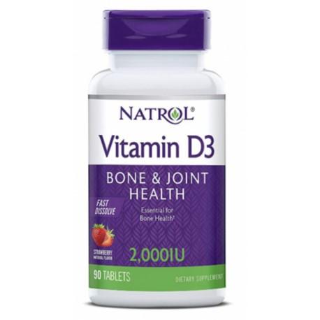 Natrol Vitamin D3 FD 2000ME 90 таб