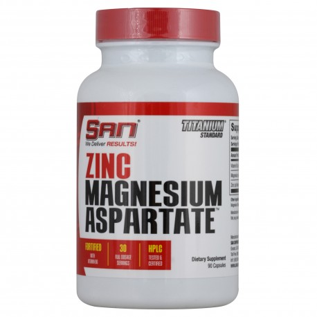 SAN Zinc Magnesium Aspartate 90 капс