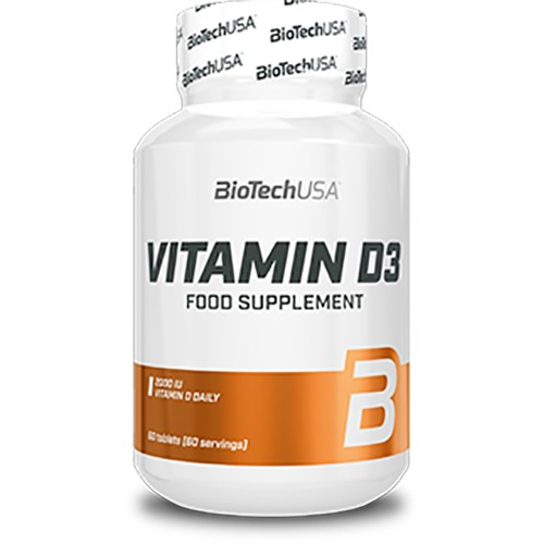 Biotech Vitamin D3 2000 ME 60 таб
