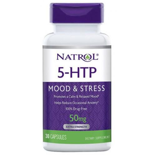 Natrol 5-HTP 50 мг 30 капс