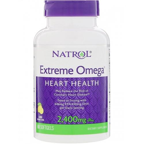 Natrol Extreme Omega 2400 мг 60 капс
