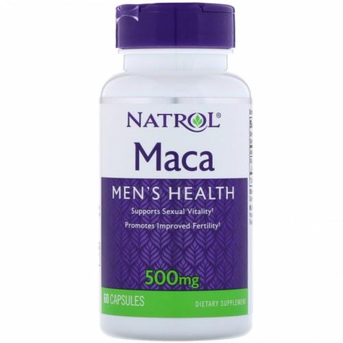 Natrol MACA 500 мг 60 капс