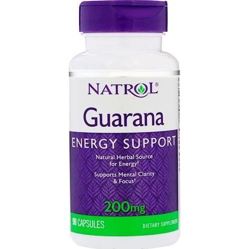 Natrol Guarana 200 мг 90 капс