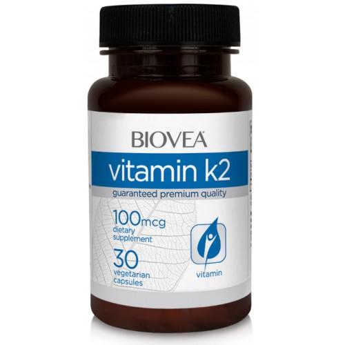 BIOVEA Vitamin K2 100 мкг 30 капс