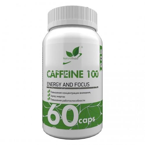 NaturalSupp Caffeine 60 caps