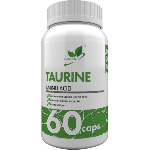 NaturalSupp Taurine 650mg 60 caps