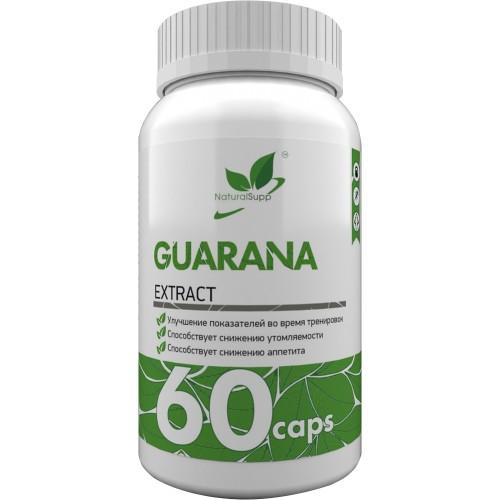 NaturalSupp Guarana Extract 700mg 60 caps