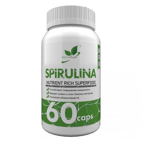 NaturalSupp Spirulina 60 caps