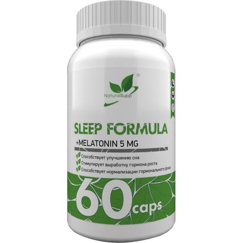 NaturalSupp Sleep Formula (GABA+Melatonin) 60 caps
