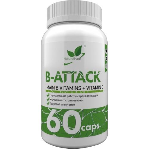 NaturalSupp B-Attack 60 caps