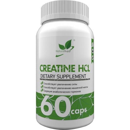 NaturalSupp Creatine HCL 60 caps