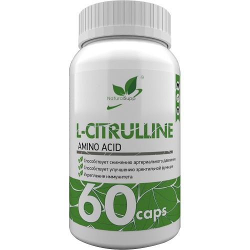NaturalSupp L-Citrulline 500mg 60 caps