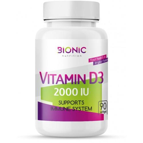 Bionic Vitamin D3 2000ME 90 caps