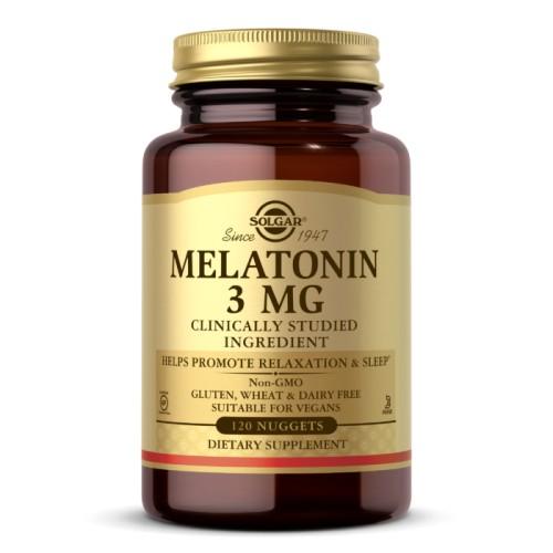 Solgar Melatonin 3 мг 120 таб