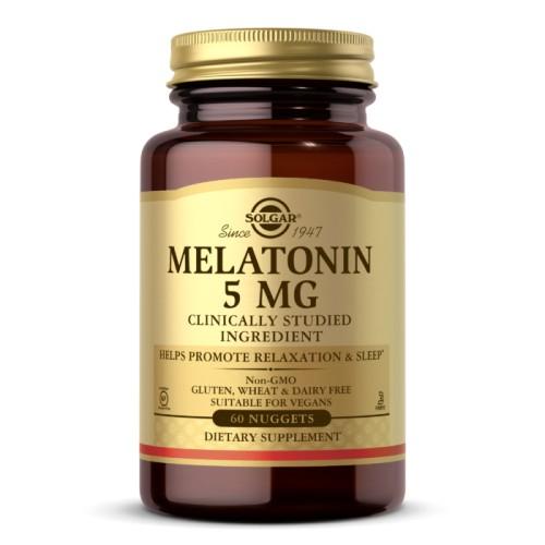 Solgar Melatonin 5 мг 60 таб
