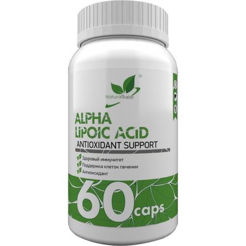 NaturalSupp Alpha Lipoic Acid 100mg 60 caps