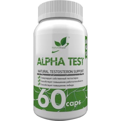 NaturalSupp Alpha Test 60 caps