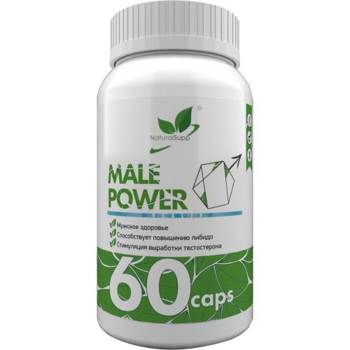 NaturalSupp Male Power 60 caps