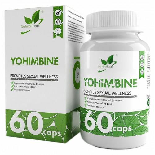 NaturalSupp Yohimbine 50mg 60 caps