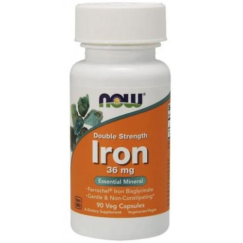 NOW Iron 36 мг 90 капс