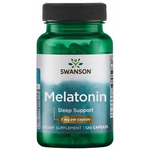 Swanson Melatonin 3 мг 120 капс