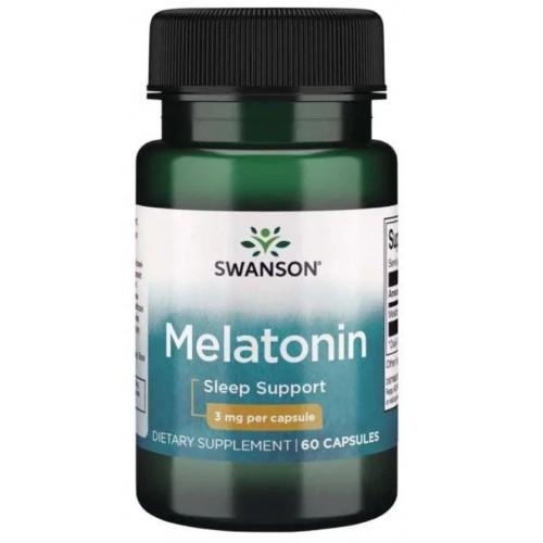 Swanson Melatonin 3 мг 60 капс