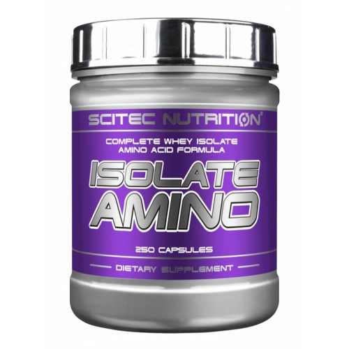 Scitec Isolate Amino 250 caps
