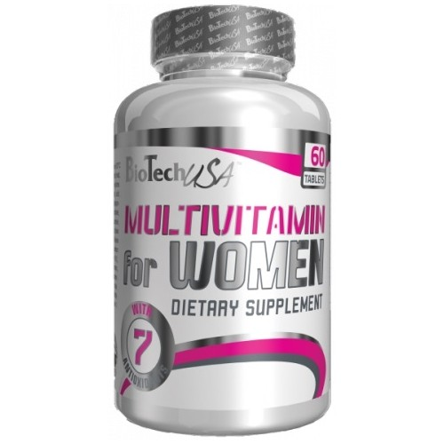 Biotech Multivitamin for Woman 60 tabs