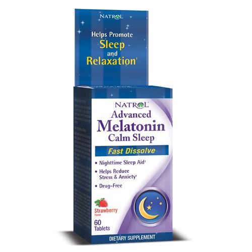 Natrol Fast Dissolve Melatonin 6mg 60 tabs