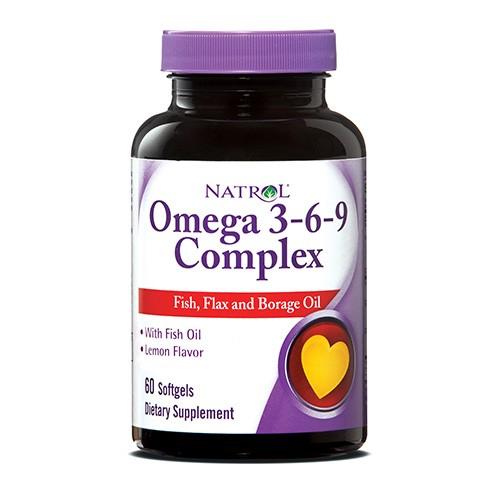 Natrol Omega 3-6-9 90 caps