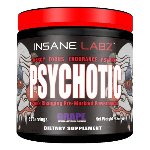 Insane Labz Psychotic 220g 35 serv
