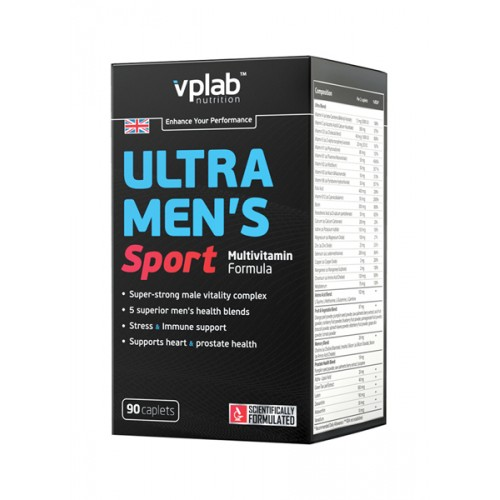 VPLab Ultra Mens Multivitamin Formula 90 caps