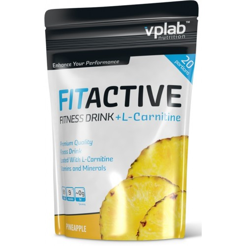 VPLab Fit Active+L-Carnitine 500g