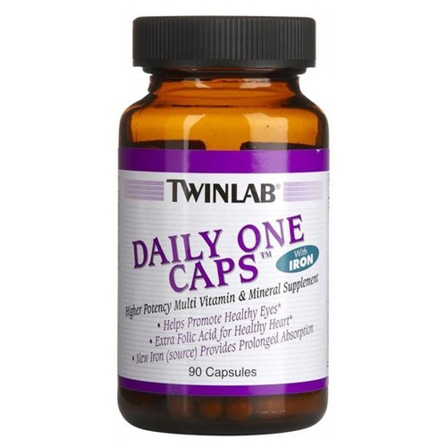 Twinlab Daily One Caps w/o Iron 90 caps