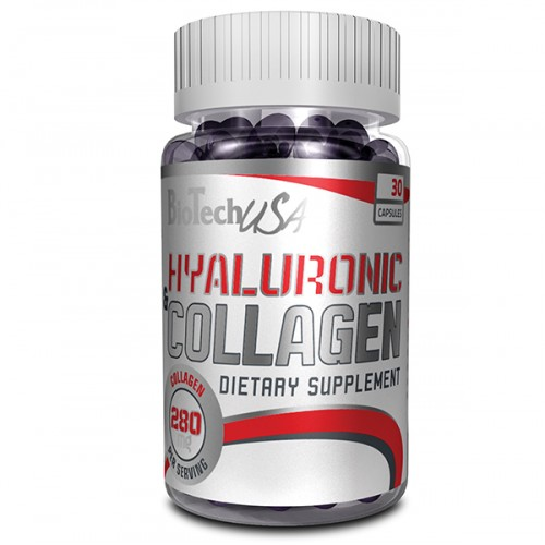 Biotech Hyaluronic and Collagen 30 caps