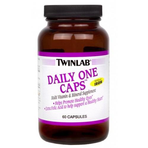 Twinlab Daily One Caps w/o Iron 60 caps