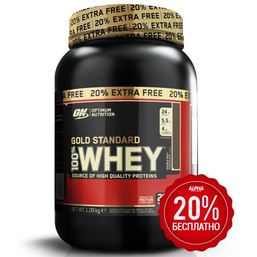 Optimum 100% Whey Gold Standard 1090g (20% Бесплатно)