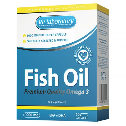 VPLab Fish Oil OMEGA3 60 caps