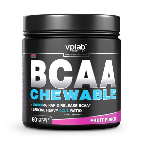 VPLab BCAA Chewable 60 caps