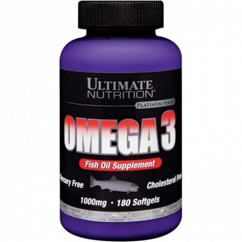 Ultimate Omega-3 1000mg 180 softgels